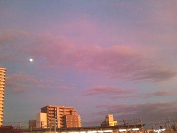 台風の日のヨガ