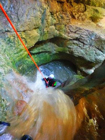 canyoning dans les hautes alpes
