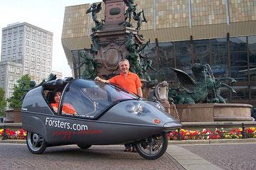 Twike Elektrofahrzeug in Leipzig