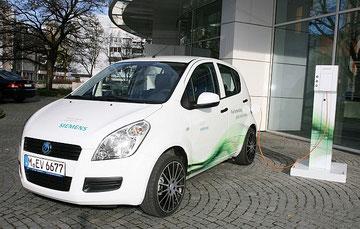 Elektroauto Siemens