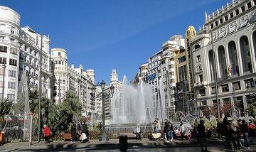Valencia, Rathausplatz, 2011