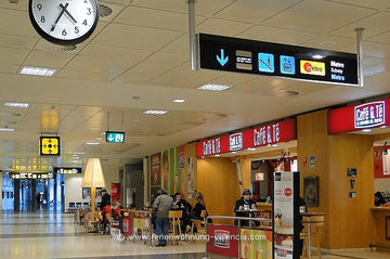 Flughafen Valencia, Ankunftshalle