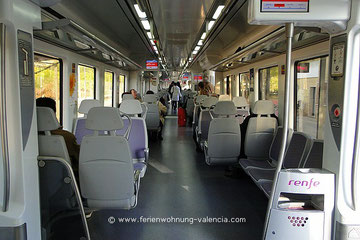 RENFE, Zug von Gandia nach Valencia
