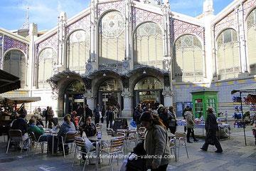 Mercaso Central, Valencia, Spanien, Markthalle