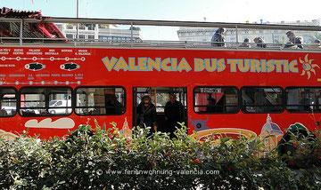 Valencia Bus Turistic, Tourismus-Bus Valencia, Plaza de la Reina