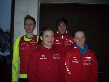 v.r.n.l: Marco Giese, Elisa Ringsdorf; Sandra Clemens, Hanna Quast