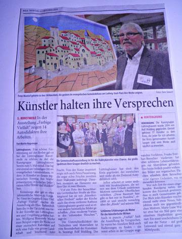 Ausstellung in Lüttringhausen 5.10.2014