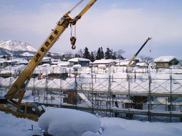 2010.2月:New 新井小工事中光景