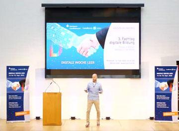 Die Gedanken von Jan Vedder aus seinem Online-Vortrag wurden in diversen Workshops vertieft. Foto: Screenshot Landkreis Leer.
