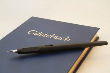 Gästebuch Ferienwohnung Ettenheim, Bildquelle: fotolia.com, kreativekaos