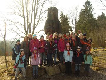 Die Wölflinge in Hellenthal