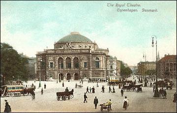 Le Théâtre Royal, Copenhague