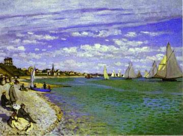 Monet - Sulla spiaggia