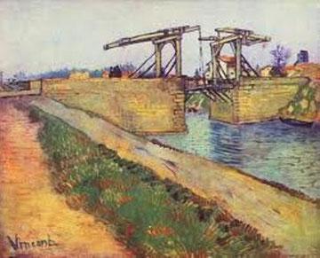 VAN GOGH - Arles. Il ponte levatoio