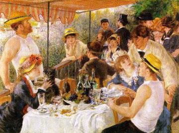 PIERRE-AUGUSTE RENOIR - Colazione dei canottieri (1880-81)