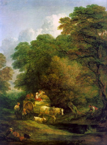 GAINSBOROUGH - La carretta del mercato