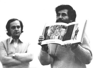 Allan Kaprow and Gianni Pettena, 1974