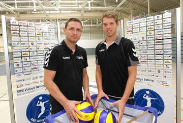 Goran Aleksov (links) und Christian Gosmann.