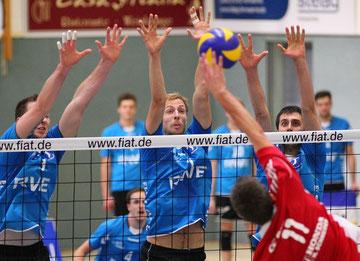 Die RWE Volley starten in die neue Saisonm. Foto: Tom Schulte