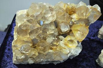 Kristallgebilde aus dem Grimselgebiet.