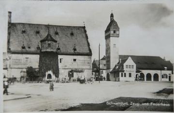 Zeughaus vor dem 2.Weltkrieg mit ehem. Feuerwehrhaus