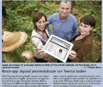 Person-App, de Ondernemer, november 2011