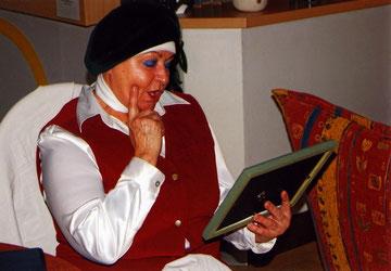 Ingrid Weber in der Rolle der Katarina von Bora