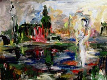 Auferstanden Dresden (2009), Acryl
