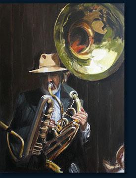 Sousaphonspieler