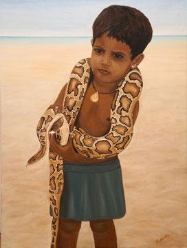 Schlangenkind
