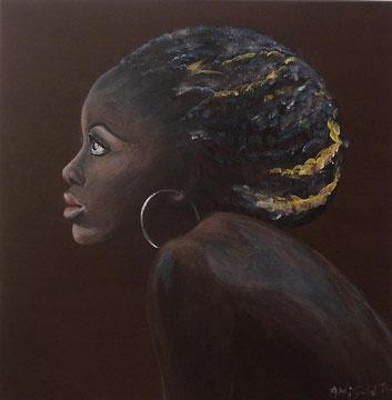 Saba, Acryl auf Leinwand, 60x60cm