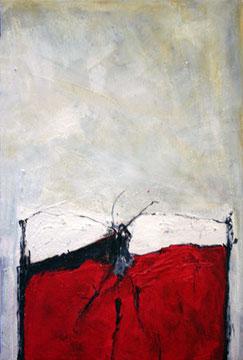 Insektentreffen (Acryl auf Leinwand, 40 x 60cm)
