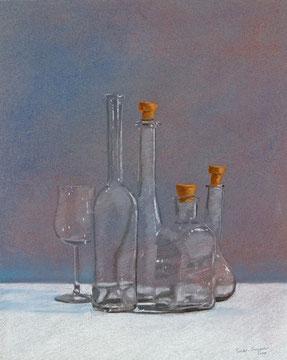 Flaschen, 38x30cm