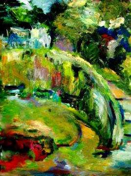 Malertreppe (2011), Acryl