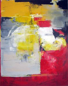 Im Grauen (Acryl auf Leinwand, 80 x 100cm)