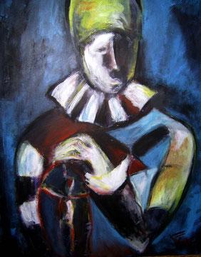 Georg der Spieler (2009), Acryl