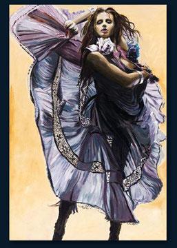 Die Tänzerin, Acryl auf Leinwand, 140 x 100cm