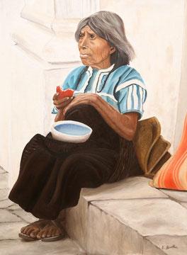 Alte Indianerfrau