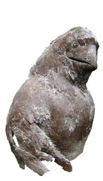 Goldhorn (Terrakotta, H: 35 cm)