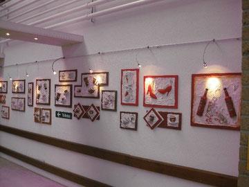 derzeit in Frankfurt im SunFlower Center (Ausstellung)