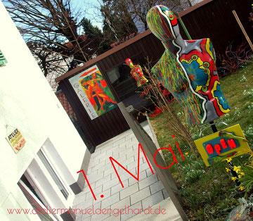 Offenes Atelier am 1. Mai - ArtBoxStarnberg