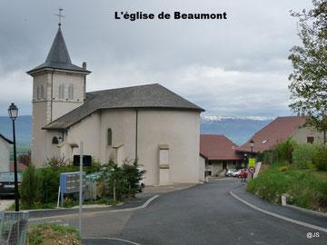 L'église de Beaumont