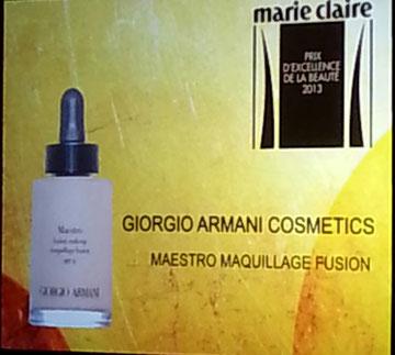 Giorgio Armani Cosmetics, Maestro Maquillage Fusion