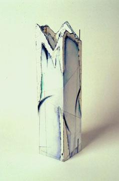 水際の振柱Ⅰ W140×D140×H580㎜