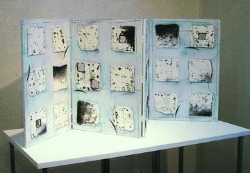 波紋図48記(四曲一双屏風仕様) W910×D380×H455㎜