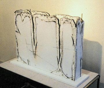 水侵の平箱 W693×D120×H570㎜