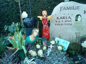 Ein neuer Engel für Karla, der sie beschützen soll - da wo sie jetzt ist..Kristine 21. Januar 2009