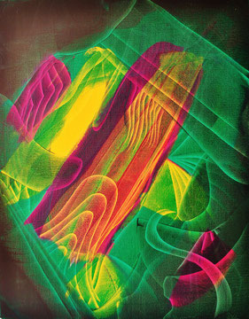 Voracious nature, oil on canvas, 2013, contemporary abstract art