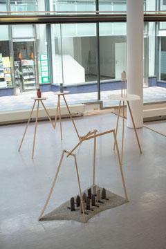 Britta Frechen_Ausstellungsansicht_Kunst und Architekturforum/ Essen_2018