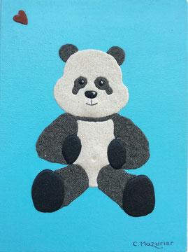 Panda; 18 x 24 cm